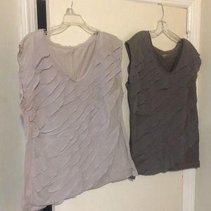 LOFT Women's blouses, both size large